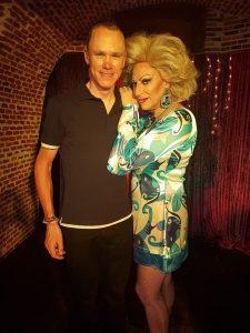 Chris Froome y Dolly